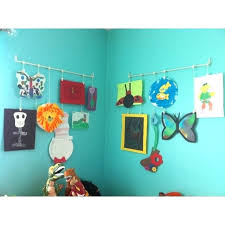 hanging kids artwork hanging kids artwork how do you guys display kid art or flash cards
