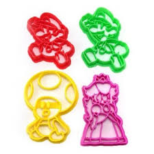 buy super mario brothers 4 cookie cutters featuring mario
