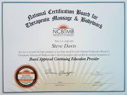 Certification Letter For Grammarian Presentations By Steve Davis Healing Light Yoga And Massage