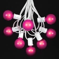c7 white wire light string sets novelty lights inc