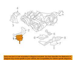 chrysler oem 04 06 pacifica engine motor mount torque strut