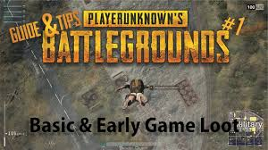 pubg guide pubg guide tips 1 basic knowing the map early game loot
