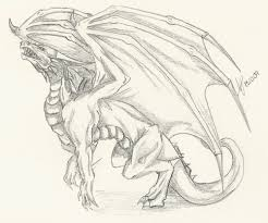 10 cool dragon drawings inspiration hative clip art library