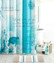Kohls Bathroom Rugs Blue Ocean Theme Bathroom Collection With Shower Curtain Towels