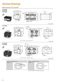 contactors and thermal overload relays fj series fuji electric