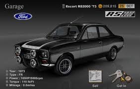 Mk2 Escort Rs2000 Interior D M Multimedia 3d Cars Escort Mki Mki Escort Rs Gallery