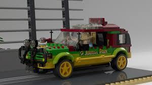 jurassic park car toy lego ideas jurassic park 25th anniversary t rex paddock breakout