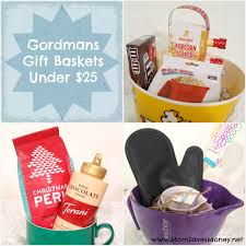 per gift basket gordmans gift basket ideas 25 plus a giveaway