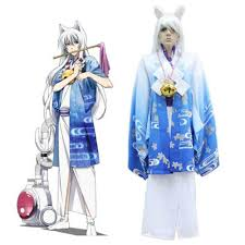 spirit of halloween costumes japanese anime gugure kokkuri san fox spirit kokkuri san cosplay