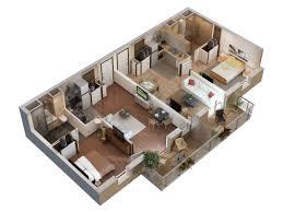 plan 3d appartement floor plan pinterest 3d building ideas