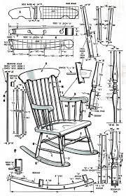 rocking chair plans free unique arts franklin rocking chairunique