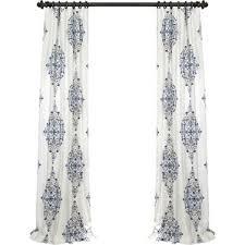 Black And Cream Damask Curtains Damask Curtains U0026 Drapes You U0027ll Love Wayfair