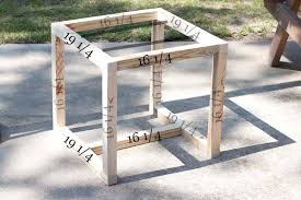 Knock Off Pottery Barn Furniture Outdoor Side Table Pottery Barn Knockoff