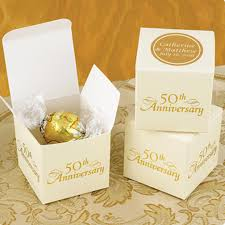 anniversary favors 50th anniversary favor boxes 25 pcs 25th 50th anniversary