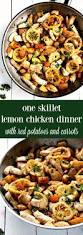 one skillet lemon chicken and red potatoes chelsea u0027s messy apron