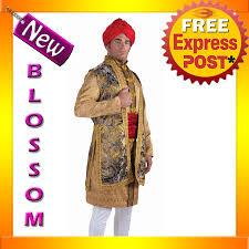Bollywood Halloween Costumes C871fn Maharaja Prince King Mens Costume Indian Bollywood