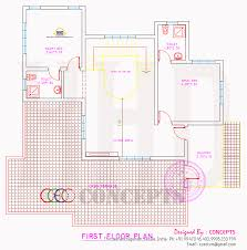 house plan elevation and plot plan kerala home design and floor