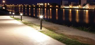 Bollard Landscape Lighting Energy Saving Walkway Lighting Solutions Premier Lighting