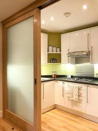 sliding kitchen doors interior sliding doors for kitchens contemporary kitchen with glass panel