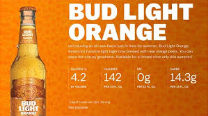 how many carbs in bud light beer anheuser busch debuts summery new bud light orange fox news