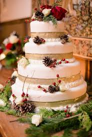 Christmas Wedding Cakes Quintessential Red And White Christmas Wedding Aisle Society