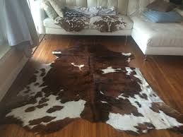 Patchwork Cowhide Rug Living Room Classic Patchwork Cowhide Rug Park With Brown Wooden