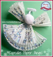 a spotlight christmas kids crafts fabric scrap wreath cupcake