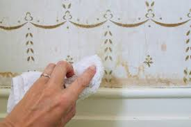 how to clean wall stains domestic science tip how to remove water stains from wallpaper