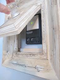 standard garage door opening how to hide purtruding items from your wall garage door security