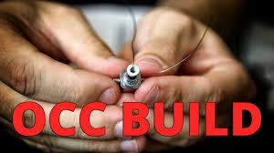 how to rebuild the kanger sub tank mini occ coil youtube
