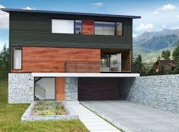 modular house contemporary steel framing metal custom