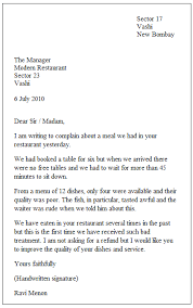letters format sample all resumes english letters format english letters format in