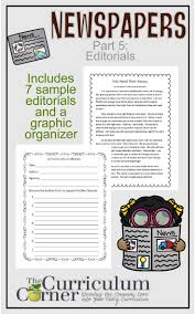 news paper writing 78 best world and current events newspaper images on pinterest newspapers part editorials free from the curriculum corner part of a series helping teachers with a newspaper study in the classroom