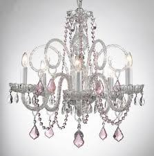 Plug In Crystal Chandelier Colored Crystal Chandelier Ebay