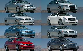 acura vs bmw luxury sport sedan comparison acura rl vs audi a6 vs bmw 535i vs