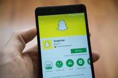 snapchat stock photos royalty free images dreamstime