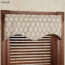 Swag Curtains For Living Room by Curtain Valances Decorate The House With Beautiful Curtains