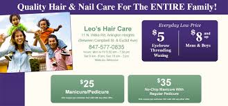 leo u0027s hair care nails u0026 spa