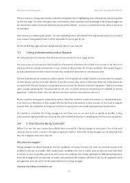 Achievements On Resume Resume Secrets Exposed