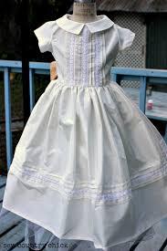 vintage communion dresses a silk taffeta communion dress from a 1958 pattern sew