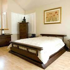 chinese bed frame inspired delta low profile platform bed with