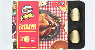 pringles launches an whole thanksgiving dinner built out of chips