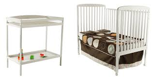 Storkcraft Princess 4 In 1 Fixed Side Convertible Crib White by Natural Wood Crib And Changing Table Creative Ideas Of Baby Cribs