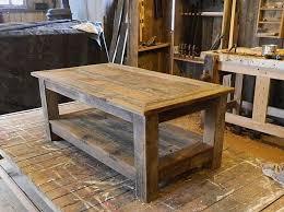 rustic solid wood coffee table impressive crafters and weavers fulton rustic solid wood coffee