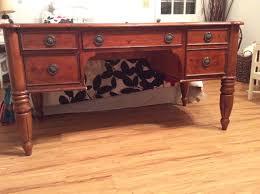my desk has no drawers wood pipe desk tutorial katiegen