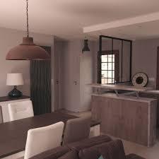 salon salle a manger cuisine salon salle à manger cuisine style industriel