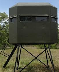 Bow Hunting Box Blinds Texas Deer Stands Fiberglass Blinds