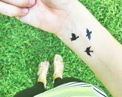 valentine temporary tattoos double infinity emily thorne wrist