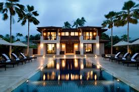 home design modern beach house pool large houses with pools