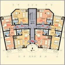 good 4 bedroom 2 story house floor plans in kerala 1987x3246